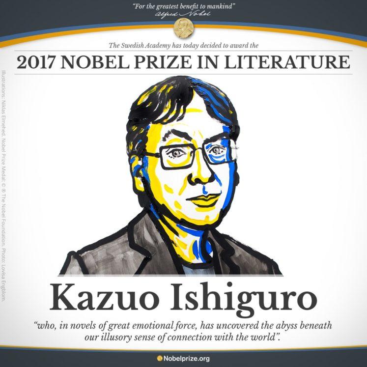 Nobel Edebiyat Ödülü Ishiguro'nun