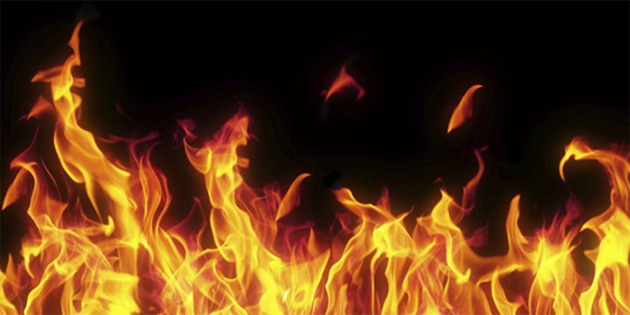 Gönyeli'de yangın