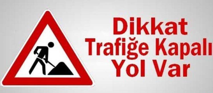 Lefkoşa'da yarın bir yol trafiğe kapanacak