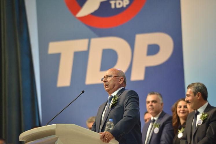TDP'den de UBP'ye ret