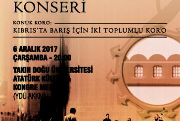 Belediye Orkestrası ile İki Toplumlu Koro'dan ortak konserler