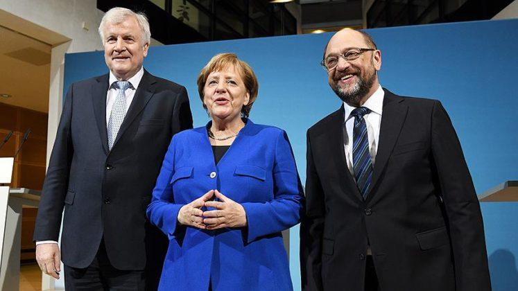 Almanya'da 136 gün sonra koalisyon için anlaşıldı