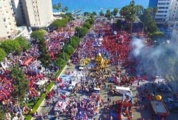 Limasol karnavalla renklendi
