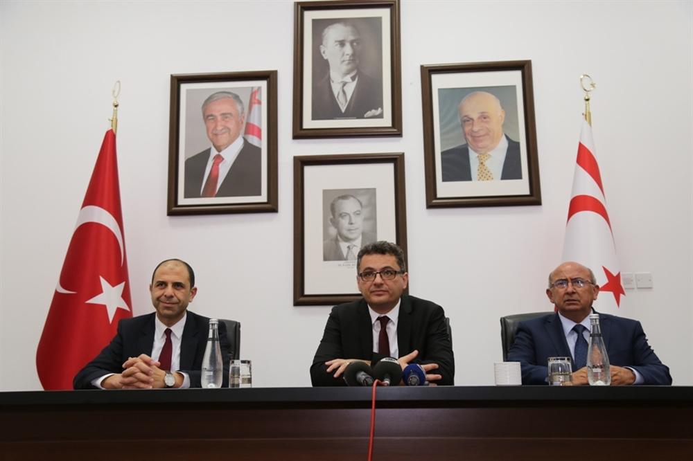 Erhürman Ankara'dan destek mesajıyla döndü
