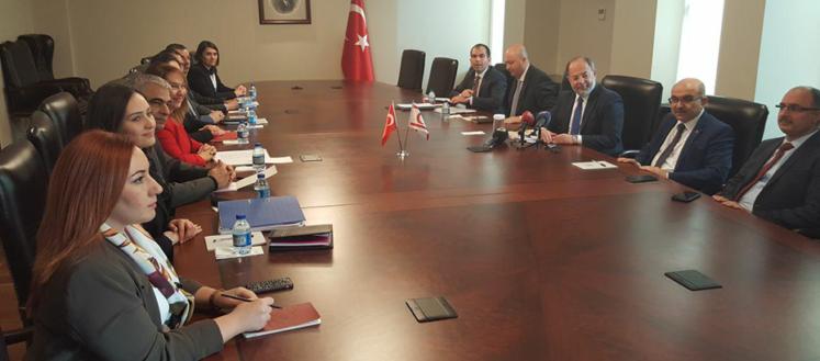 Besim Ankara'da Akdağ'la görüştü
