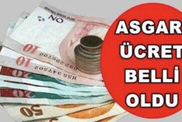 Yeni Asgari Ücret belirlendi: 2 bin 365 TL