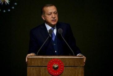 """Erdoğan: """"KKTC'nin haklarını koruma noktasında aynı kararlılığı göstereceğiz"""""""