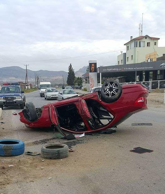 Sürücü 199 promil alkollü çıktı