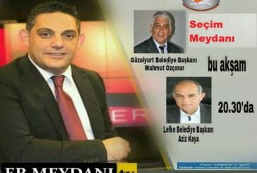 Mahmut Özçınar ve Aziz Kaya bu akşam Genç Tv'de