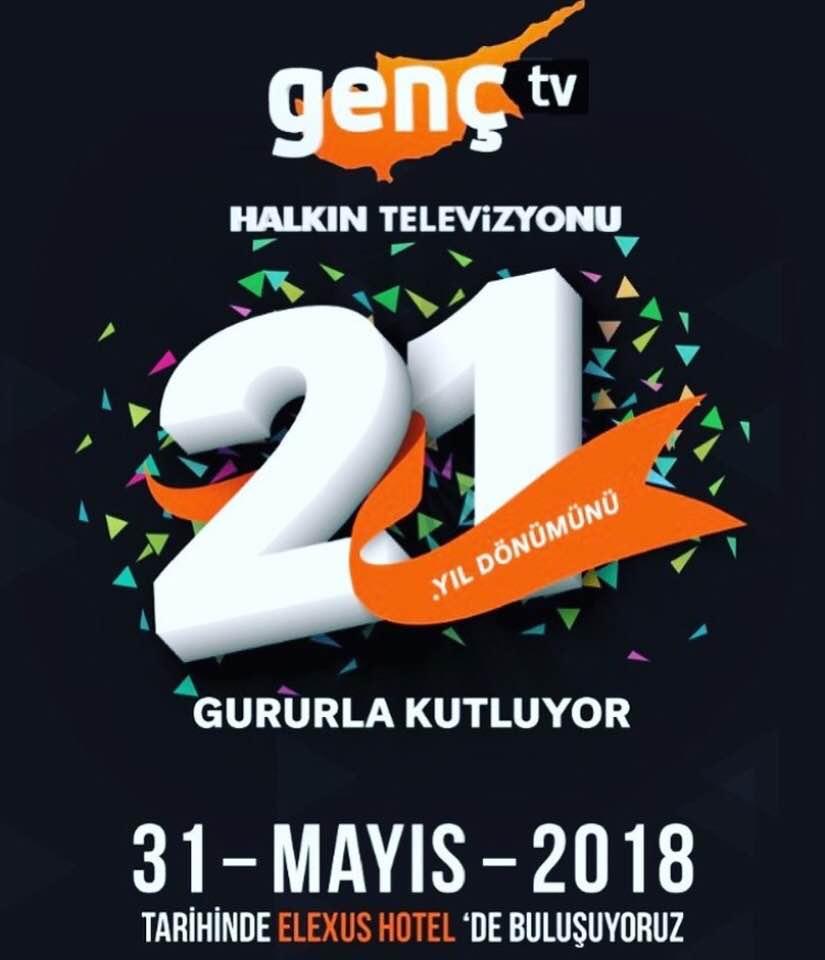 Kıbrıs Genç TV, 21.yılını yarın akşam kutluyor