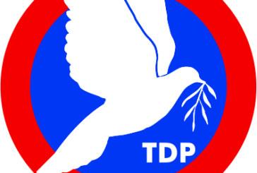 TDP, 3 yerde belediye başkan adayı, 5 bölgede meclis üyeliklerine aday gösterdi