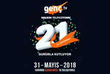 Kıbrıs Genç TV, 21.yılını bu akşam kutluyor