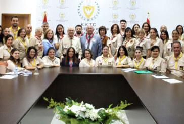 """İzcilik """"Liderlik Temel Eğitim ve Kümebaşı Eğitim Kursu"""" sertifika töreni düzenlendi"""
