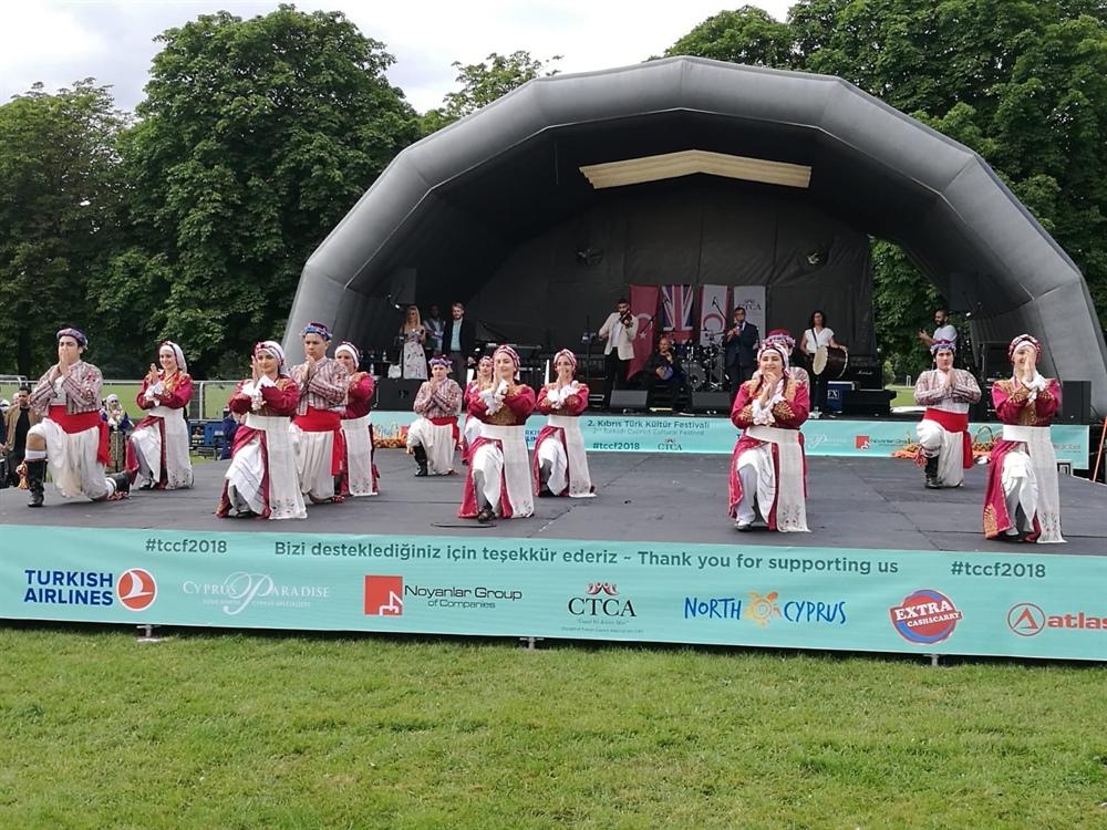 Londra'da 2. Kıbrıs Türk Kültür Festivali yapıldı