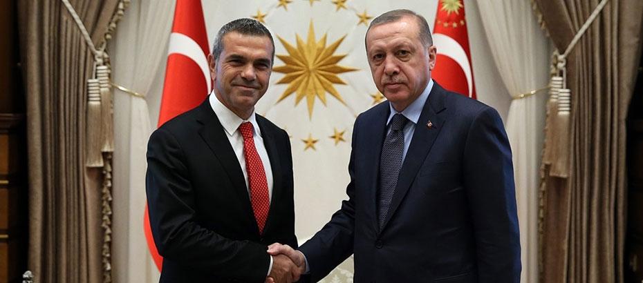 Uluçay, Erdoğan'ı tebrik etti