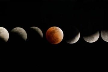 Yaklaşık 4 saatlik Kanlı Ay Tutulması, ilgiyle izlendi