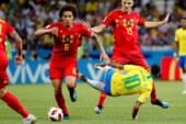 Brezilya'yı 2-1 yenen Belçika Dünya Kupası'nda yarı finalde