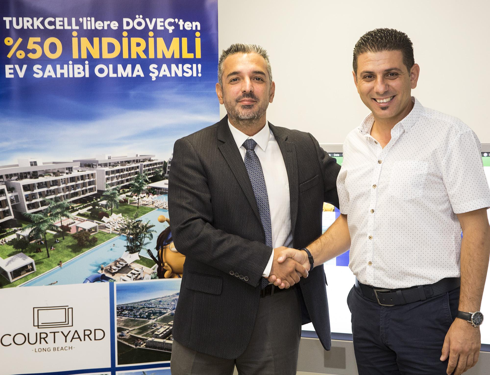 Kuzey Kıbrıs Turkcell ve Döveç Construction işbirliğinde çekiliş gerçekleşti