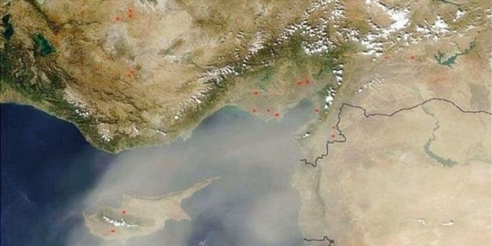 Meteoroloji Dairesi'nden toz uyarıs