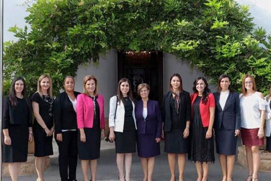 """Meral Akıncı, Baybars ve kadın milletvekilleri ile """"Kadın ve Çocuk hakları""""nı tartıştı"""