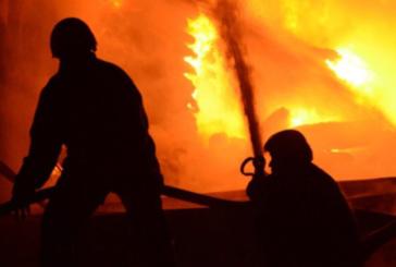 Limasol'da yangın