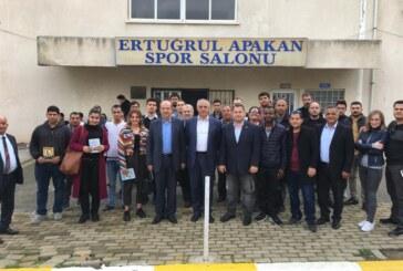 Tatar, Taçoy Girne sürüş ehliyeti müfettişliği'ni ziyaret etti