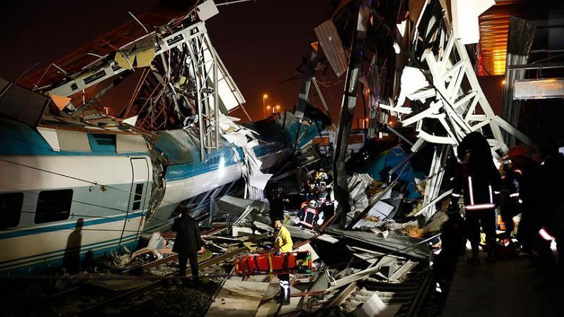 Ankara'da hızlı tren kazası: 4 kişi hayatını kaybetti, 43 yaralı var