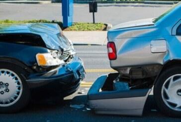 Lefkoşa'da korkutan kaza… 1 yaralı