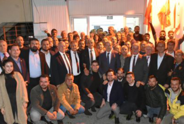 Tatar, Lefke ilçe örgütünü ziyaret etti