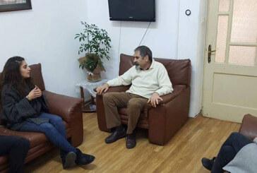 Mülteci Hakları Derneği yetkilileri TDP'i ziyaret etti
