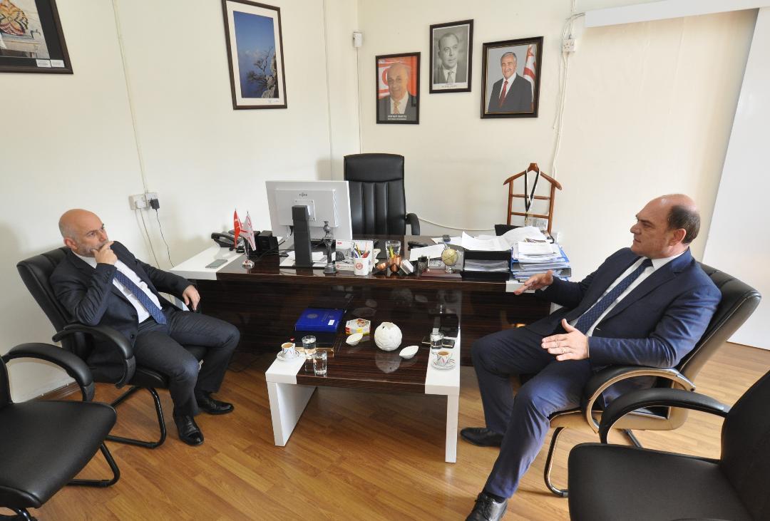 Ali Karavezirler bugün  Gürdallı'ya nezaket ziyaretinde bulundu