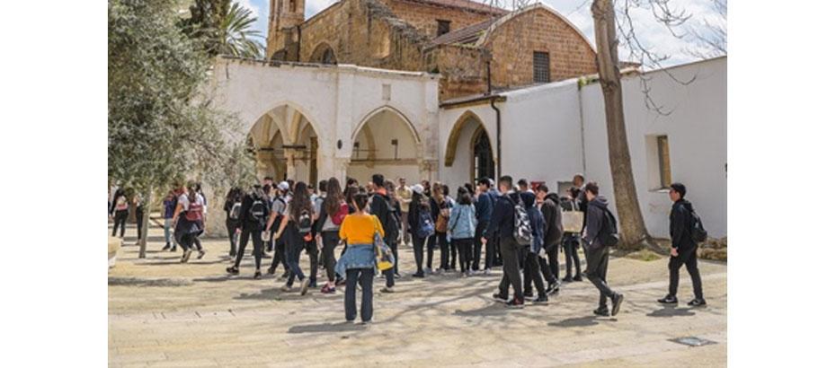 İki Toplumlu Eğitim Komitesi, öğrenciler için kültürel ziyaretler başlattı