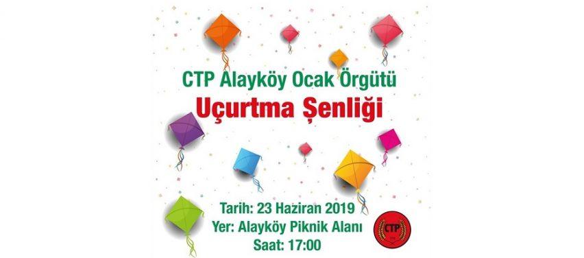 CTP, Kadın ve Çocuk farkındalığı için Alayköy'de uçurtma şenliği yapılıyor