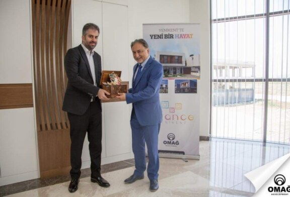Türk Arap Ülkeleri İşbirliği Derneği Genel Başkanı ve Yönetimi, Omağ Group davetlisi olarak KKTC'ye geldi