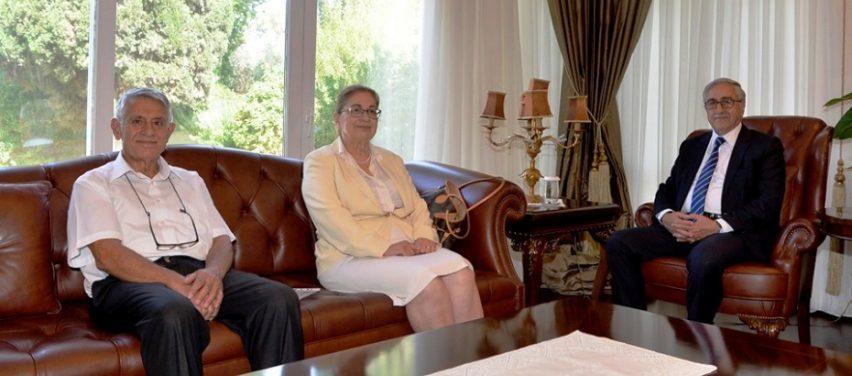 Cumhurbaşkanı Akıncı, Diyabet Derneği heyetini kabul etti