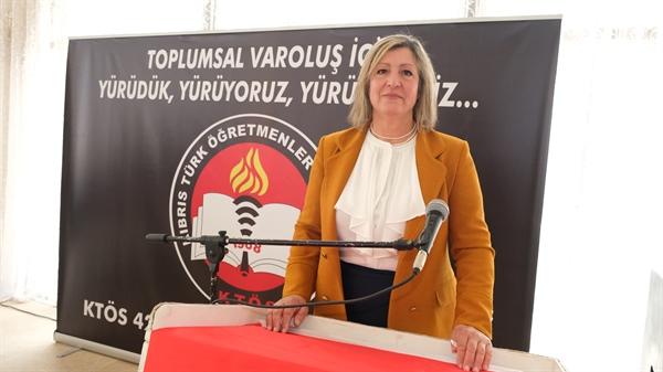 KTÖS Başkanı: Korkmuyoruz… Uluslararası hukuk nezdinde mücadele etmeye devam edeceğiz