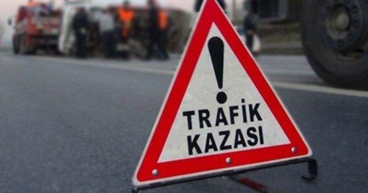 Girne'de zincirleme kaza... Şans eseri yaralanan olmadı