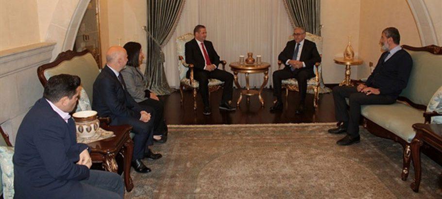 Cumhurbaşkanı Akıncı, TAK yönetim kurulu üyelerini kabul etti