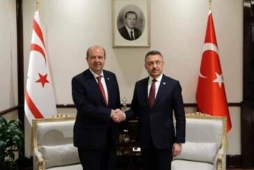 Tatar, Ankara'da Oktay ile görüştü