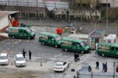 İstanbul'da ürküten korona fotoğrafı! Cenaze araçları peş peşe