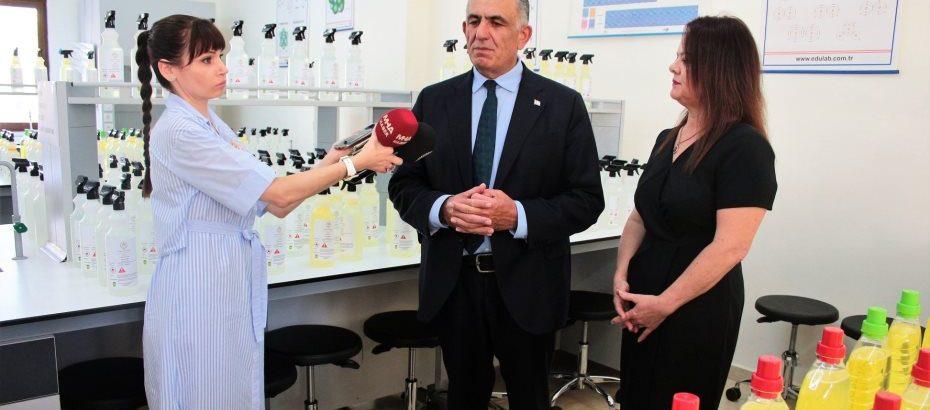 Çavuşoğlu: Okullara 41 yeni labaratuvar kazandırılacak