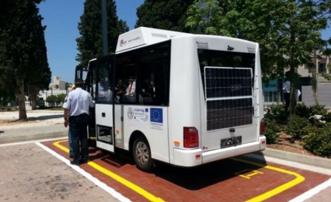 Baf'ta elektrikli otobüs faaliyete girecek