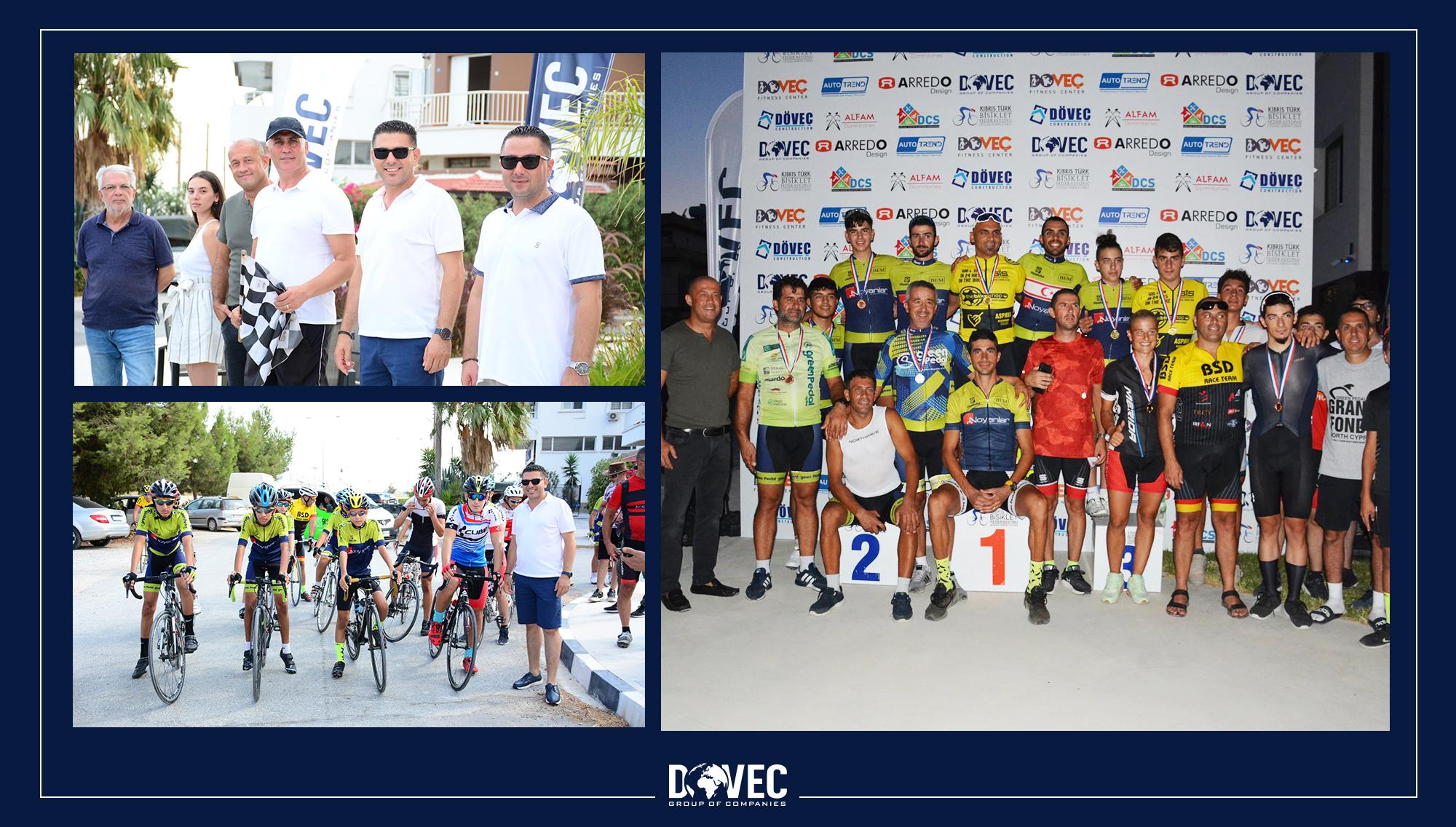 """İskele Kriteryum yarışı """"Döveç Group"""" sponsorluğunda gerçekleştirildi"""