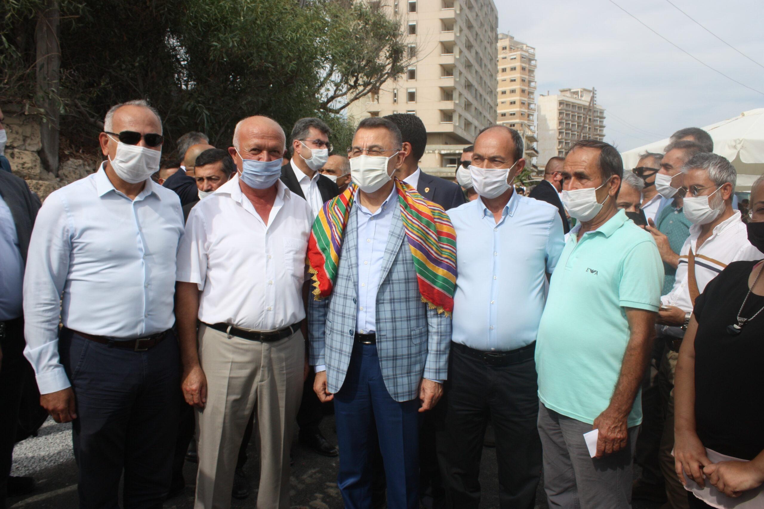 Fuat Oktay: Maraş'ın kapalı tutulması, iyi niyet göstergesiydi