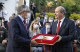 KKTC'nin 5. Cumhurbaşkanı Tatar, törenle görevi 4. Cumhurbaşkanı Akıncı'dan devraldı
