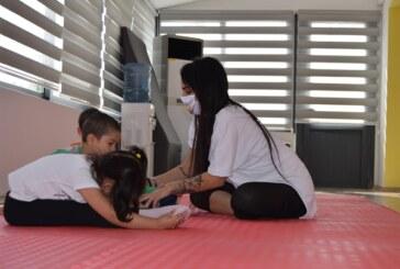 LTB Çocuk Merkezi'nde Jimnastik dersleri başladı