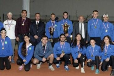 Teniste Başbakanlık kupasının sahibi DAÜ oldu