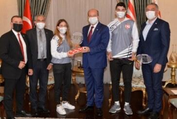 Tatar, Badminton Federasyonu'nu kabul etti