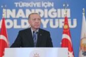 """Erdoğan """"Kıbrıs'ta artık o iş bitmiştir"""""""