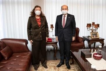 Tatar Avusturya Büyükelçisi Ziegler'i kabul etti